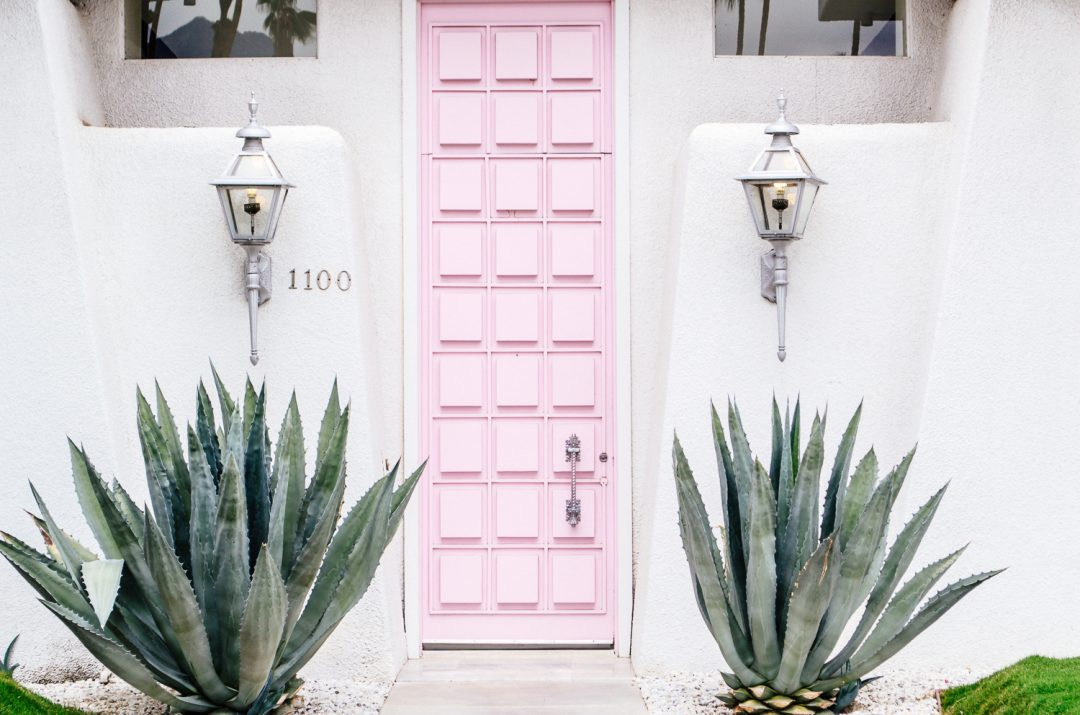 We dare to say; what\u0027s Eiffel Tower to Paris that\u0027s the Pink door to Palm Springs. The most photographed location. & Pink Door Palm Springs - California Weekend
