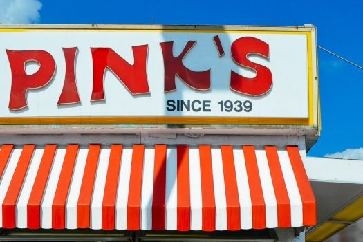 CA Originals : Pink's Hot Dog, Los Angeles