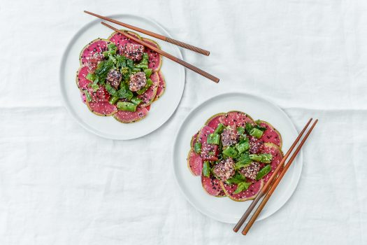Lemonade's Watermelon Radish + Ahi Tuna Salad