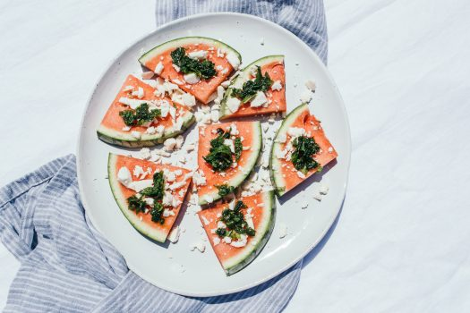 Make this 6 minutes Watermelon Salad
