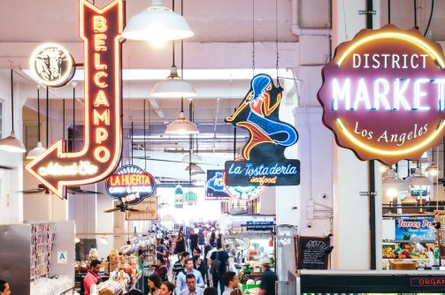 Eating the Grand Central Market, Los Angeles