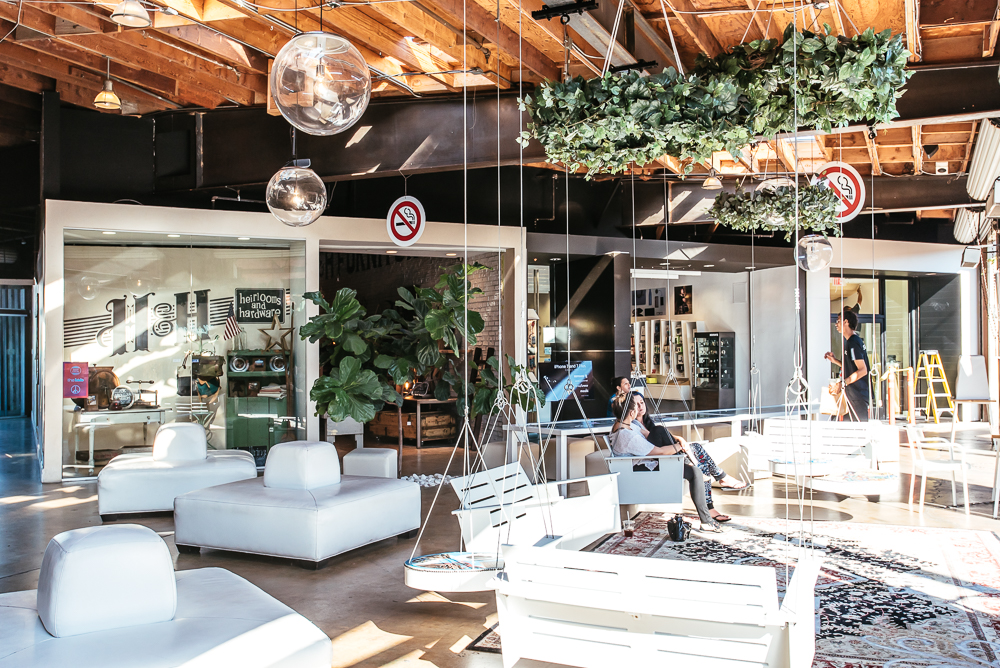 The Lab Stands For Little America Business And Features Some Independent S Restaurants It A Cozy Indoor Outdoor E To Hang Out