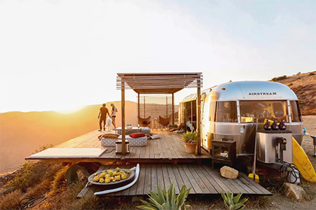 10 Most Stylish Airstream Hotels in California - California