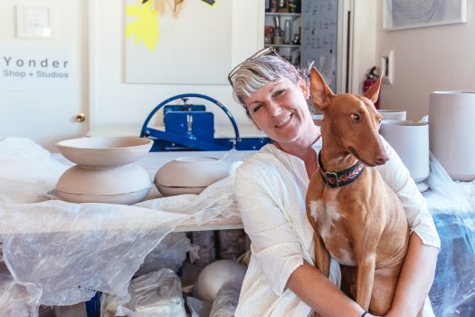 Studio Visit :: Linda Fahey of Yonder Studio + Shop
