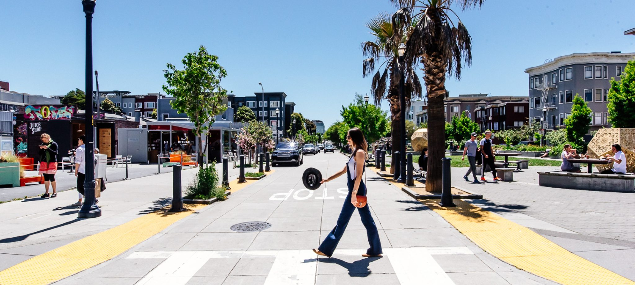 Strolling Hayes Valley with Natalia Borecka, Founder of Lone Wolf Mag