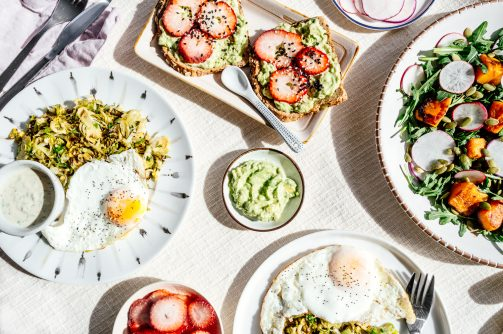 Invite your friends over for this California Breakfast